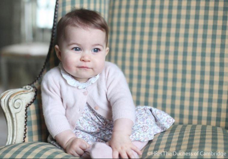 הנסיכה שרלוט. צילום: הדוכסית מקיימברידג